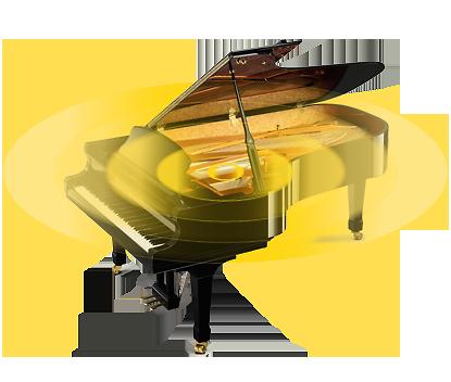 グランドピアノの響きを再現するアコースティック・レンダリング