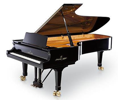 CA97/CA67と同等の<br /> グランドピアノサウンド2種を搭載