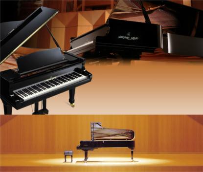 最高峰の音色を贅沢に楽しむ3種のグランドピアノ音