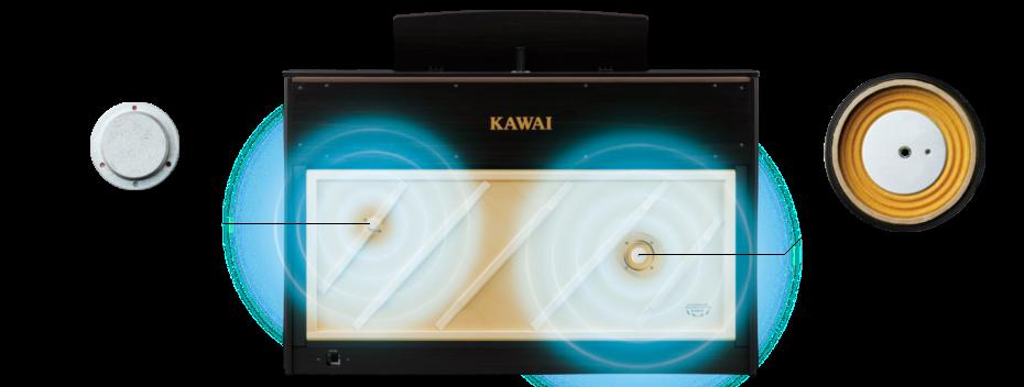 さらなる進化をとげた<br /> TWIN DRIVE 響板スピーカーシステム
