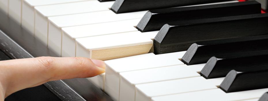 ずっと触れていたくなる木の鍵盤