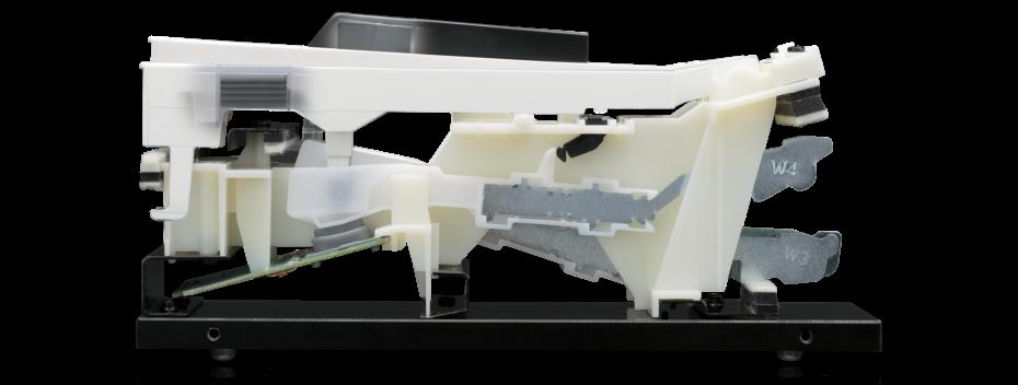 鍵盤ウェイト搭載の高性能鍵盤<br /> レスポンシブ・ハンマー・アクションⅢ