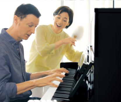 多彩な機能で、いつものピアノ演奏が<br /> もっと楽しく豊かに