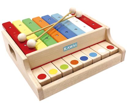 木琴+ピアノ?